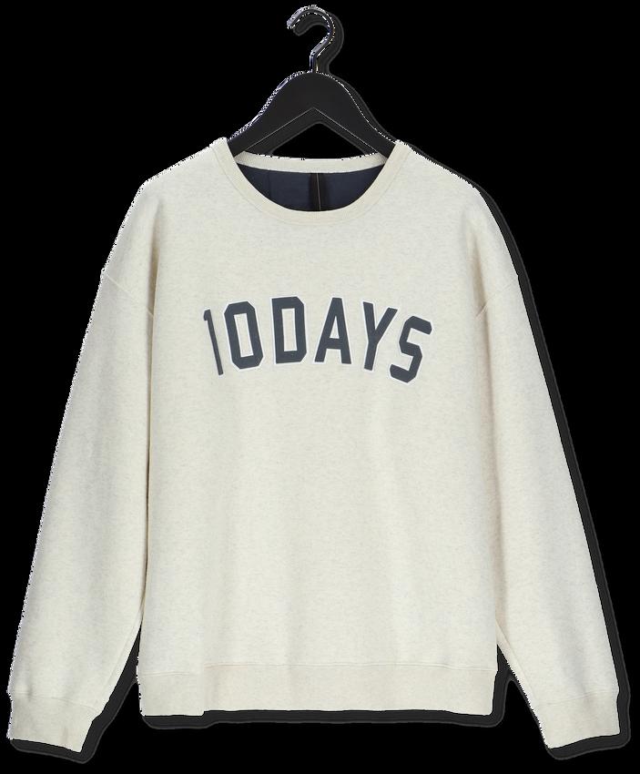 10 DAYS Chandail STATEMENT SWEATER Blanc - larger