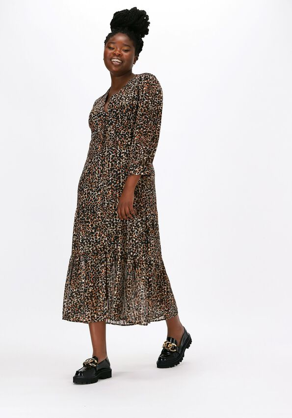 SECOND FEMALE Robe maxi ERNA FITTED DRESS en multicolore  - larger