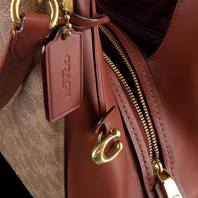 COACH Sac à main DALTON 31 SHOULDER BAG en cognac  - large
