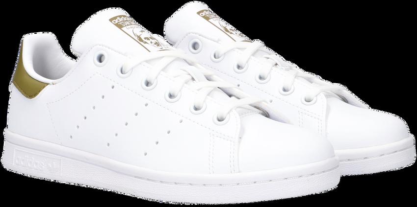 ADIDAS Baskets basses STAN SMITH J en blanc  - larger