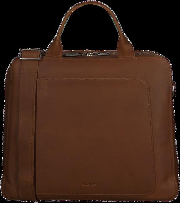 MYOMY Sac pour ordinateur portable MY LOCKER BAG BUSINESS en cognac  - large