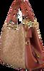 COACH Sac à main DALTON 31 SHOULDER BAG en cognac  - small