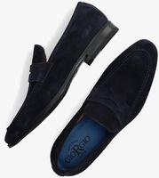 GIORGIO Loafers 50504 en bleu  - medium