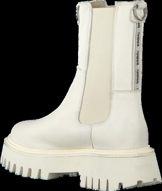 BRONX Bottines chelsea GROOV-Y 47268 en blanc  - large