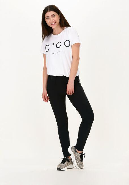 CO'COUTURE T-shirt COCO SIGNATURE TEE en blanc  - large