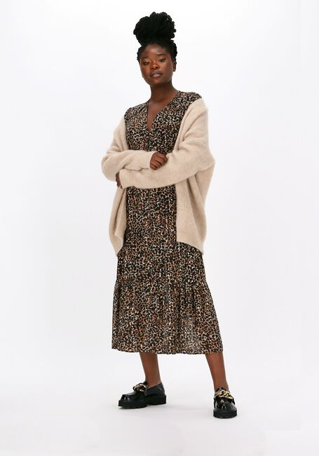 SECOND FEMALE Robe maxi ERNA FITTED DRESS en multicolore  - large