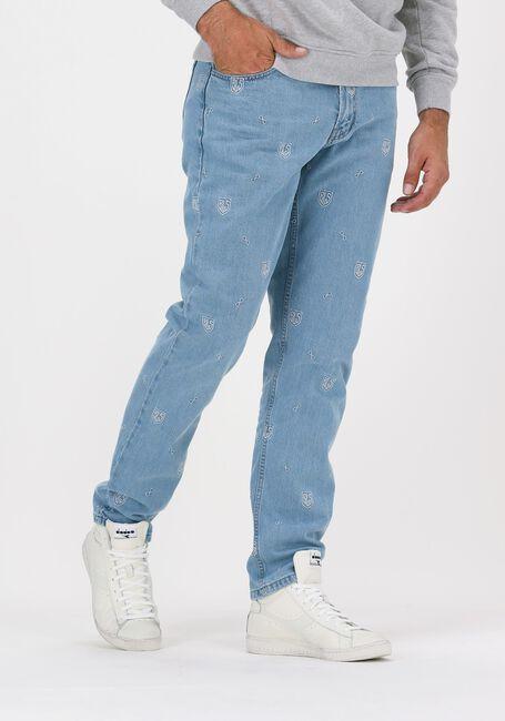 BLS HAFNIA Straight leg jeans NEW ALL OVER JEANS en bleu - large