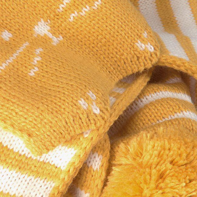TON & TON Foulard SVEA en jaune  - large