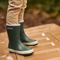 BERGSTEIN Chaussure RAINBOOT en vert  - medium