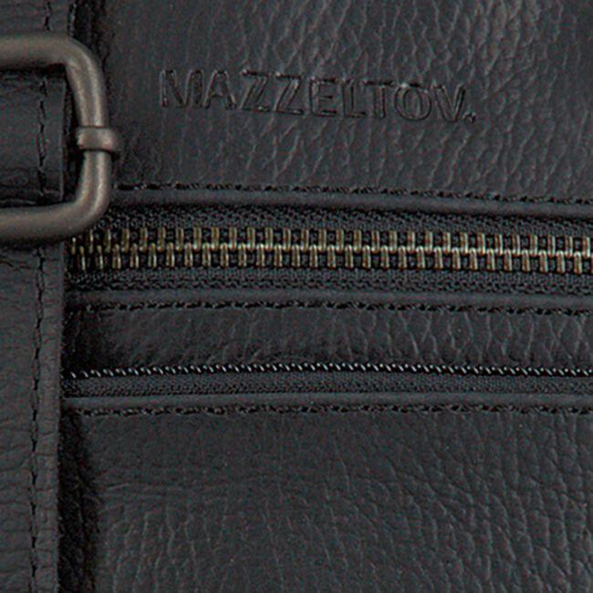 MAZZELTOV Sac bandoulière 18295 en noir  - large