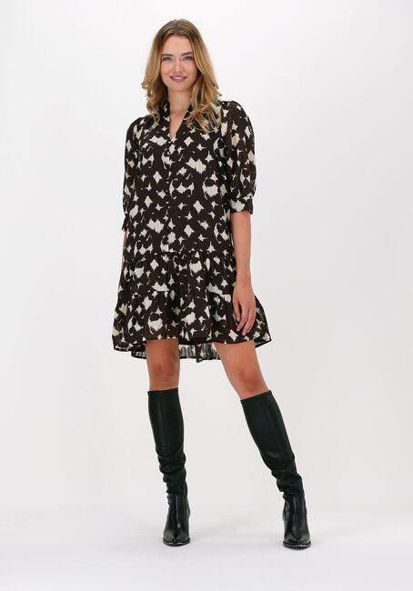 CO'COUTURE Mini robe ALYSSA BUTTON DRESS en marron  - large