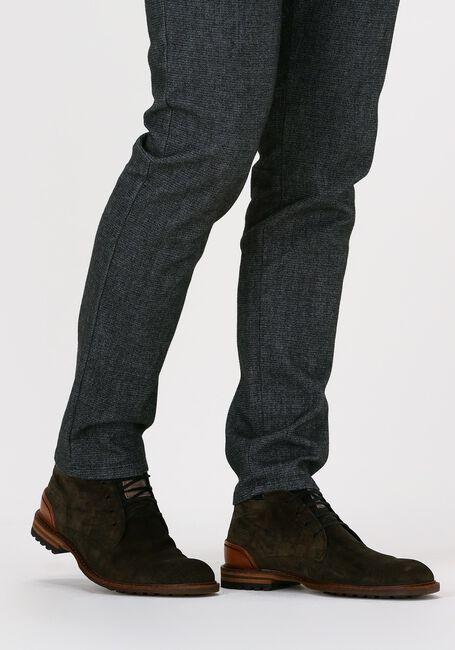 FLORIS VAN BOMMEL Chaussures à lacets 20102 en vert  - large