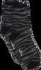 BECKSONDERGAARD Chaussettes ZEBRA GLITZI SOCK en noir  - small