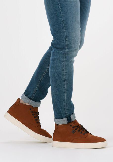 MAZZELTOV Chaussures à lacets 108916 en cognac  - large