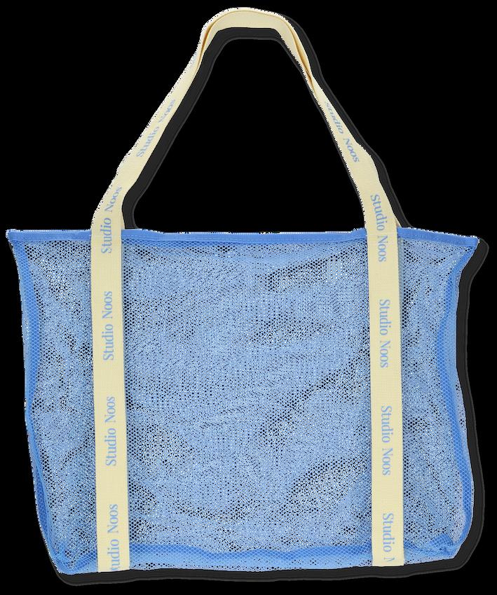 STUDIO NOOS Shopper MESH MOM-BAG en bleu  - larger