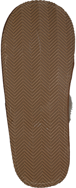 POLO RALPH LAUREN Chaussons SUMMIT SCUFF II en cognac  - large