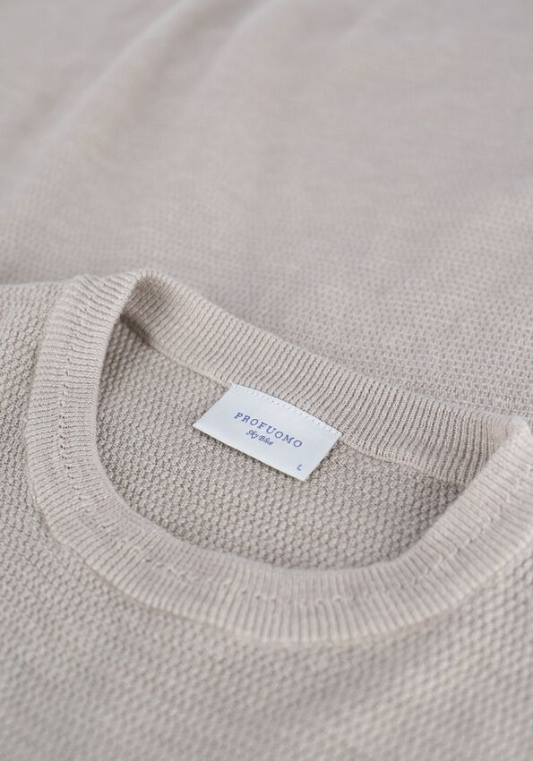 PROFUOMO Pull JEWELL en beige - larger