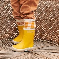 BERGSTEIN Chaussure RAINBOOT en jaune  - medium