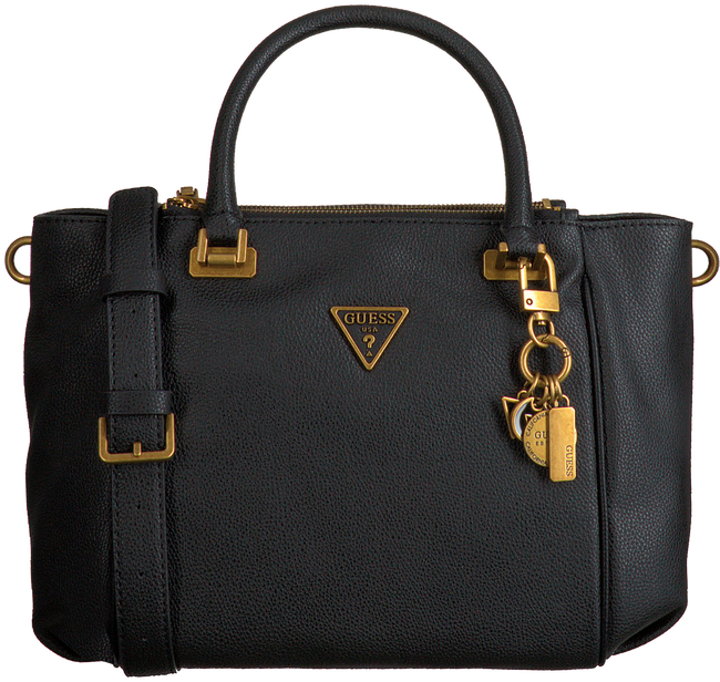 GUESS Sac à main DESTINY STATUS SATCHEL en noir  - large