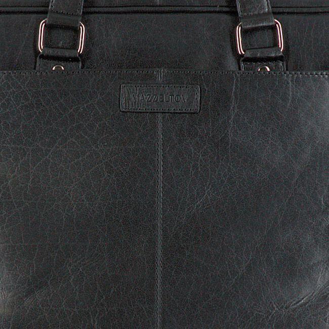 MAZZELTOV Sac pour ordinateur portable VICTOR-01 en noir  - large