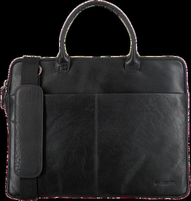 MAZZELTOV Sac pour ordinateur portable XANDER01 en noir  - large
