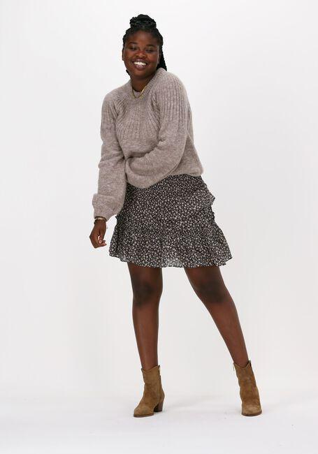 CO'COUTURE Mini-jupe BREEZE FLOWER SMOCK SKIRT en noir  - large