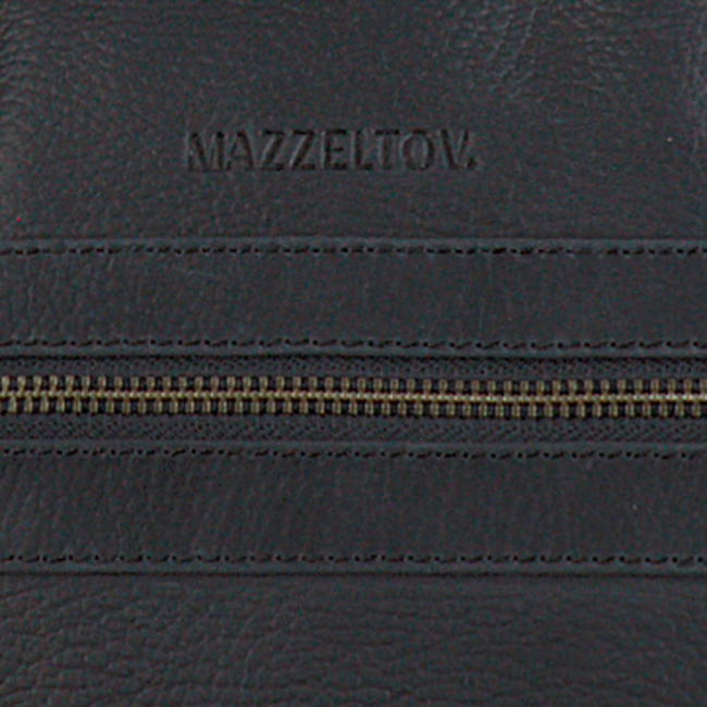 MAZZELTOV Sac pour ordinateur portable 18296 en noir  - large