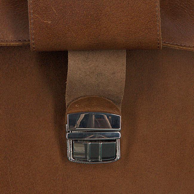MYOMY Sac pour ordinateur portable BUSINESS BAG en marron  - large