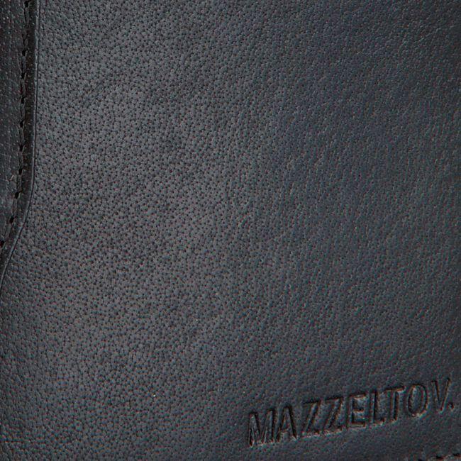 MAZZELTOV Porte-monnaie TIBOR01 en noir  - large