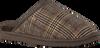WARMBAT Chaussons CLASSIC CHECK en marron  - small