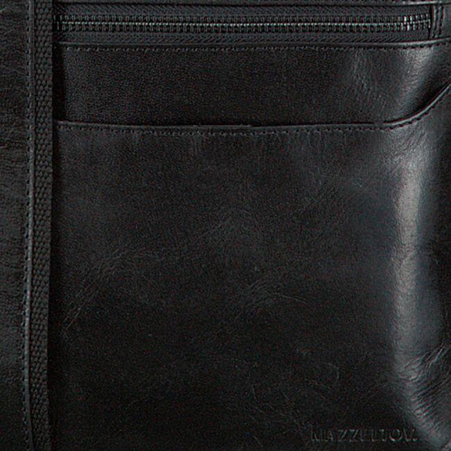 MAZZELTOV Sac bandoulière BRAD01 en noir  - large