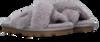 UGG Chaussons W FUZETTE en gris  - small